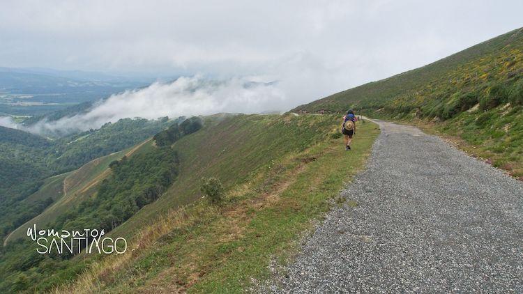 Camino de Santiago en los Pirineos