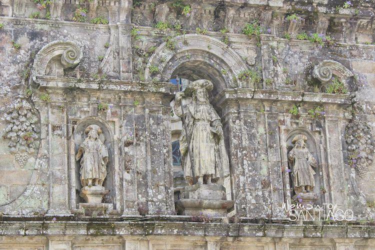 Escultura de Santiago Apóstol